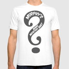 Murphy's Mystery Shirt Mens Fitted Tee White SMALL