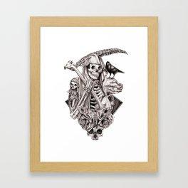 Grim Reaper Vengeance Framed Art Print