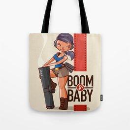 Boom Beach Fan Art - Zooka Tote Bag