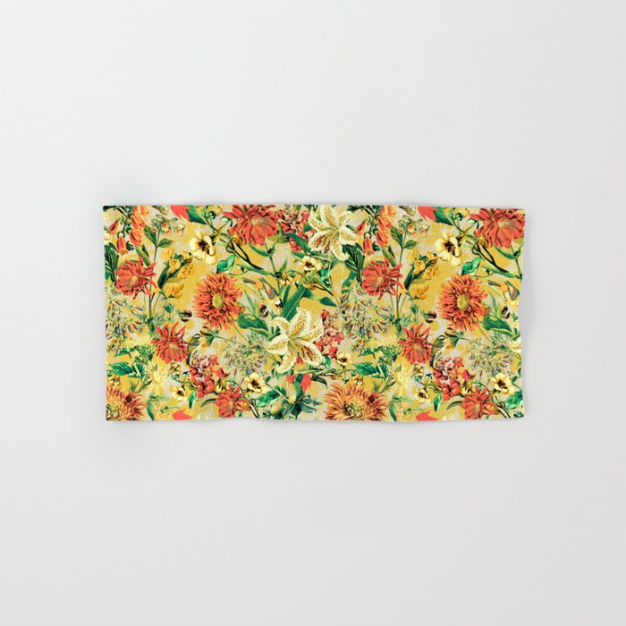 SUMMER GARDEN Hand & Bath Towel