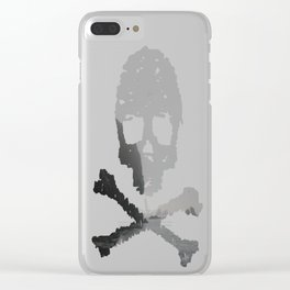 Ominous Tides Clear iPhone Case