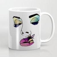 lana Mugs featuring LANA  by Vita♥G