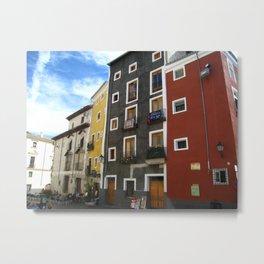 Casas de Cuenca Metal Print