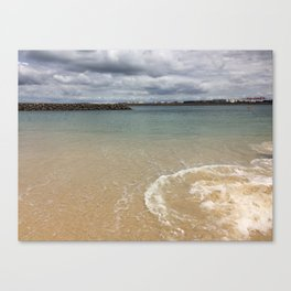 Beautiful clear water at Yarra Bay Beach Canvas Print