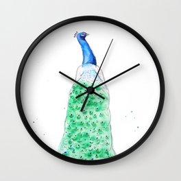 Speciosissimus Watercolor Illustration Wall Clock
