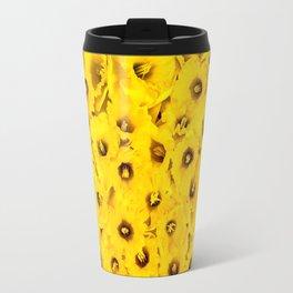 Daffodils pattern Travel Mug