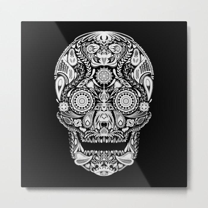 Mexican Halloween Metal Print