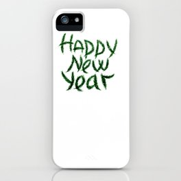 New Year's wish iPhone Case