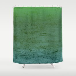 Sea Foam Textured & Distressed Gradient Shower Curtain