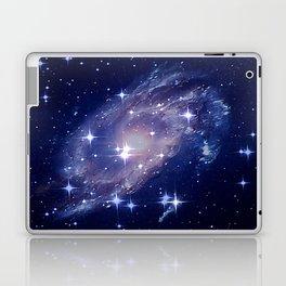 Galaxy deep in space. Laptop & iPad Skin