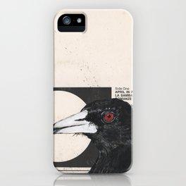 His Master's Voice - Magpie iPhone Case