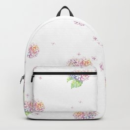 Dreamy Hydrangea Backpack