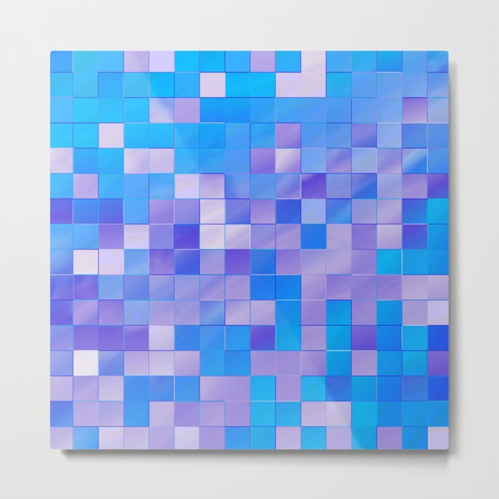 many little squares -b- Metal Print