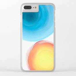 Me and You Clear iPhone Case