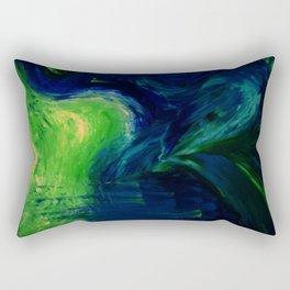 Abstract Hurricane by Robert S. Lee Rectangular Pillow