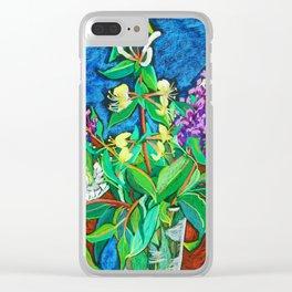 Honeysuckle Clear iPhone Case