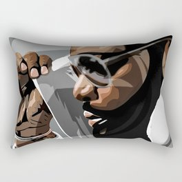 Rick Ross Rectangular Pillow