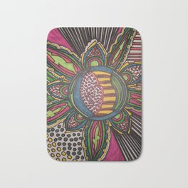The Dragon Flower Bath Mat