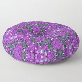 Floral shroom Floor Pillow