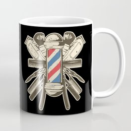 Barber Accessories   Beard Hairdresser Coffee Mug