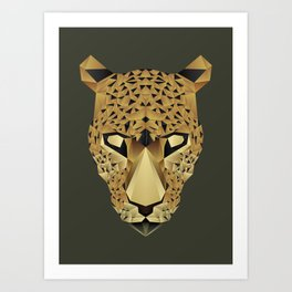 The Animals - Leopard Art Print