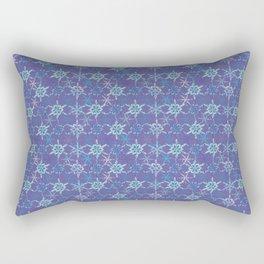 Kaleidoscope Snowflake Rectangular Pillow