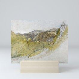 12,000pixel-500dpi - Samuel Palmer - The Valley Of Dolwyddelan - Digital Remastered Edition Mini Art Print