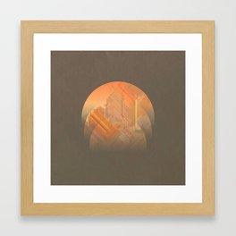 [shade]levels Framed Art Print