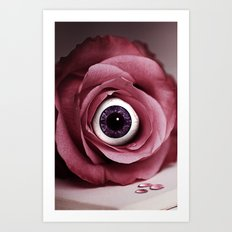 Eye Cry For You Art Print