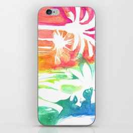 An injection of summer iPhone Skin