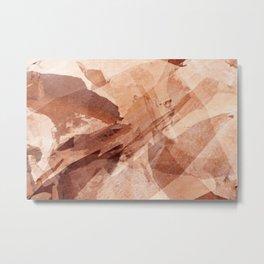 Saddlehorn Formatiob Digital Photo Variation #1 Metal Print