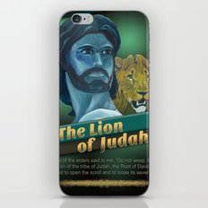 The Lion Of Judah 1 iPhone & iPod Skin