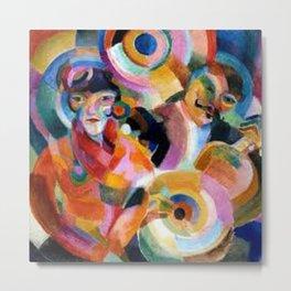 Flamenco singer by Sonia Delaunay Metal Print