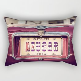 AZUCAR - CUBA LIBRE 2019 - Angel Torres Rectangular Pillow
