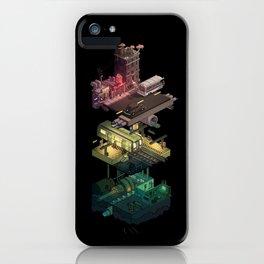 Isometric Coelary - 1 iPhone Case