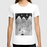 camping T-shirts featuring Camping. by Caleb Boyles