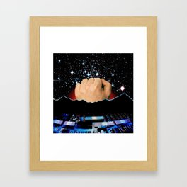 Planetary Tax Framed Art Print