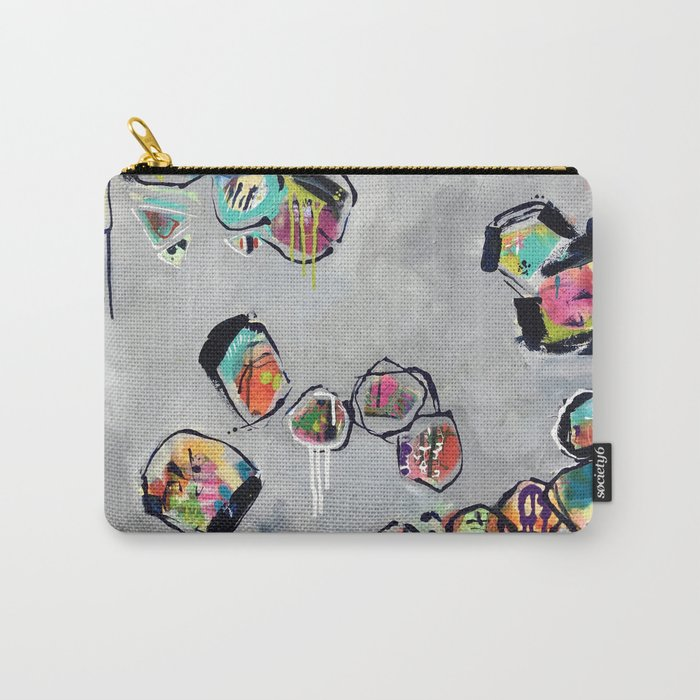 Soul Graffiti ::  Dancing with Polarity (2016). Carry-All Pouch