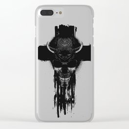 Better The Devil You Know Clear iPhone Case