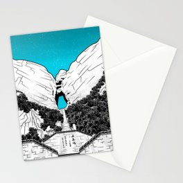 Heaven's Gate Tainmen Mountain Stationery Cards