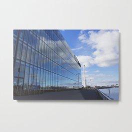 Glasgow BBC building Metal Print
