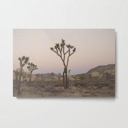 V is for Joshua Tree Metal Print