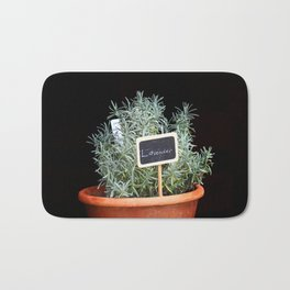 Lavender Plant Bath Mat