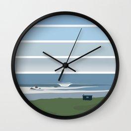 Clifftop Cabin Wall Clock