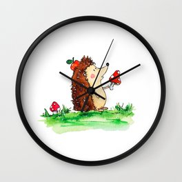 Howie the Hedgehog Wall Clock