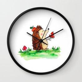 Howie the Hedgehog Wall Clock
