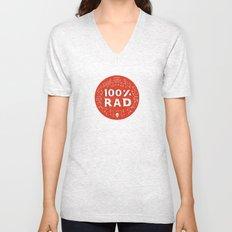 100% Rad Unisex V-Neck