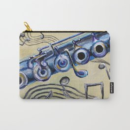 Flute Blues Carry-All Pouch