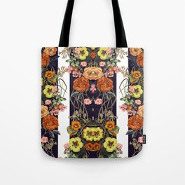 Floral Crossings 02 Tote Bag