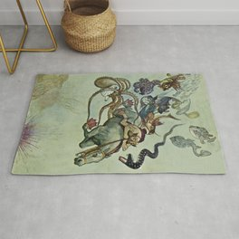 Under Command Of Magic Czech Fable by Artus Schneider Rug